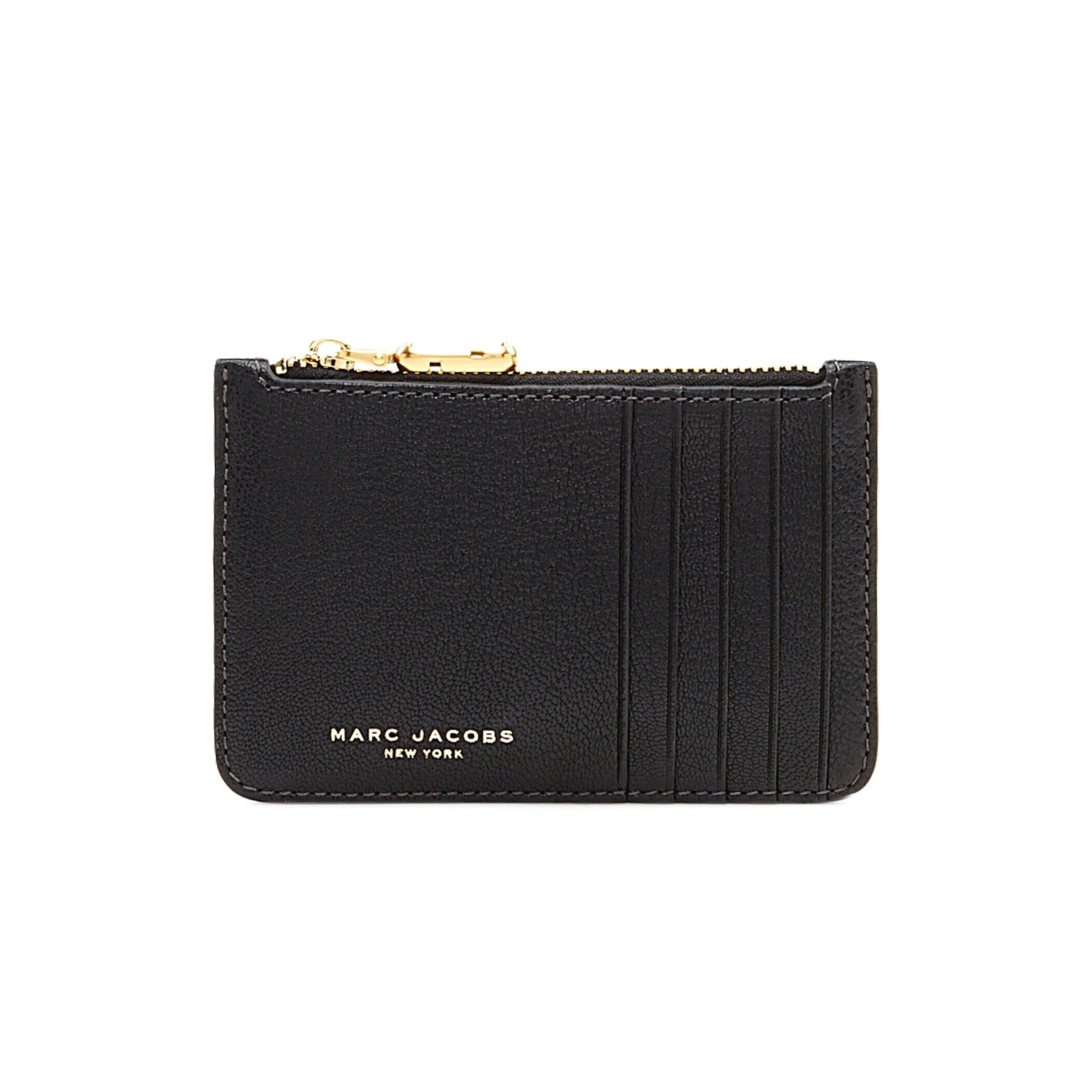 04498b66960 Marc Jacobs - Perry Leather Zip Card Pung - Phigo Fine Luxury