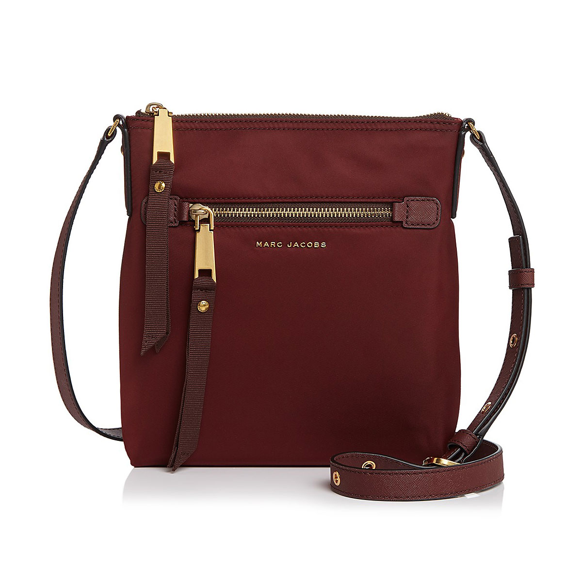 738deb141fd Marc Jacobs – Trooper Crossbody Taske, Port - Phigo Fine Luxury
